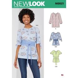Wykrój New Look N6621A