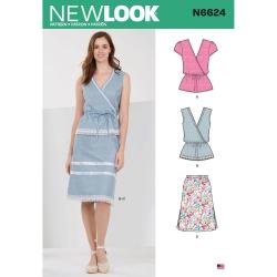 Wykrój New Look N6624A