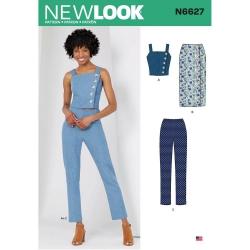 Wykrój New Look N6627
