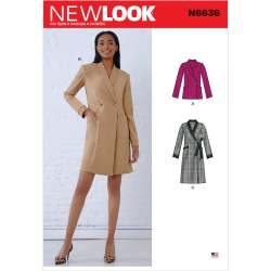Wykrój New Look N6636