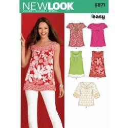 Wykrój New Look N6871A