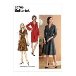 Wykrój Butterick B6706