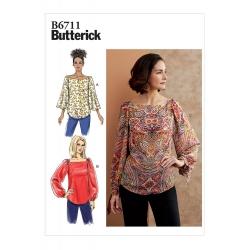 Wykrój Butterick B6711