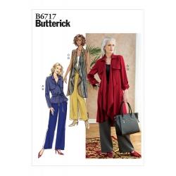 Wykrój Butterick B6717
