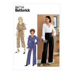Wykrój Butterick B6716