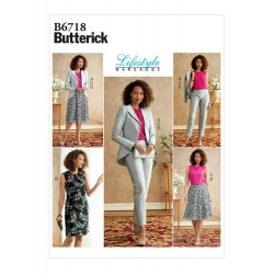 Wykrój Butterick B6718