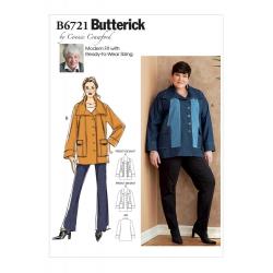 Wykrój Butterick B6721