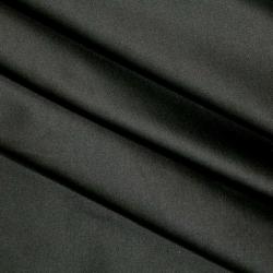 Satyna bawełniana czarna