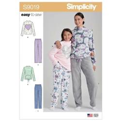 Wykrój Simplicity S9019