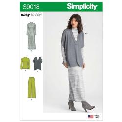 Wykrój Simplicity S9018