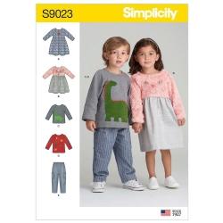 Wykrój Simplicity S9023