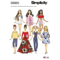 Wykrój Simplicity 8865