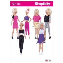 Wykrój Simplicity S9034