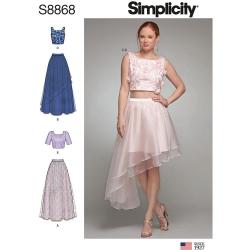 Wykrój Simplicity 8868