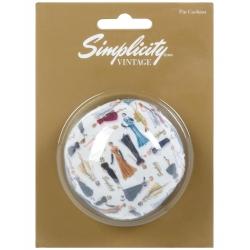 Simplicity Vintage Poduszka na szpilki