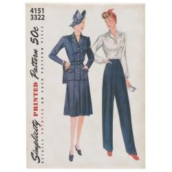 Simplicity Vintage Magnes - Wykroje 4151 3322