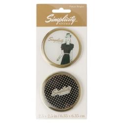Simplicity Vintage Obciążniki do papieru do wykrojów Lady Dots