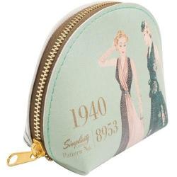 Simplicity Vintage Portmonetka ze sztucznej skóry 1940