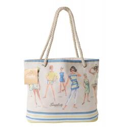 Simplicity Vintage Bawełniana torba plażowa