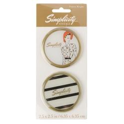 Simplicity Vintage Obciążniki do papieru do wykrojów Lady Stripe