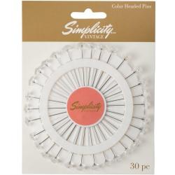 Simplicity Vintage Szpilki wykończone kryształkami Clear