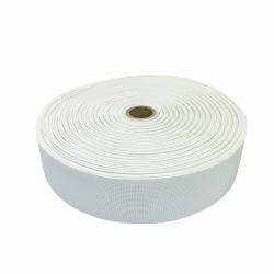 Guma tkana 50 mm biała