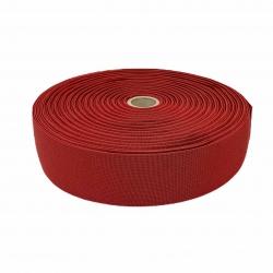 Guma tkana 50 mm bordowy 2