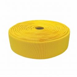 Guma tkana 50 mm żółty 2