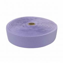 Guma tkana 50 mm fioletowy jasny