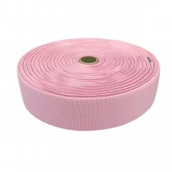 Guma tkana 50 mm różowy jasny