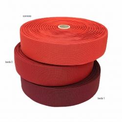 Guma tkana 50 mm czerwony