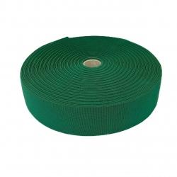 Guma tkana 50 mm zielony 3