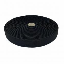 Guma tkana 25 mm czarna