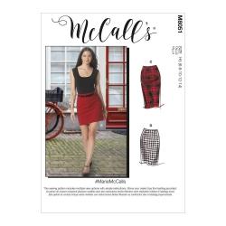 Wykrój McCall's M8051 #MarieMcCalls