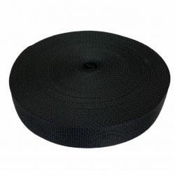 Taśma nośna 30 mm czarna