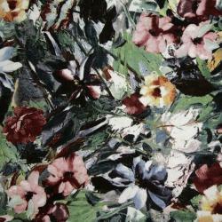 Jersey, wiskoza kwiaty