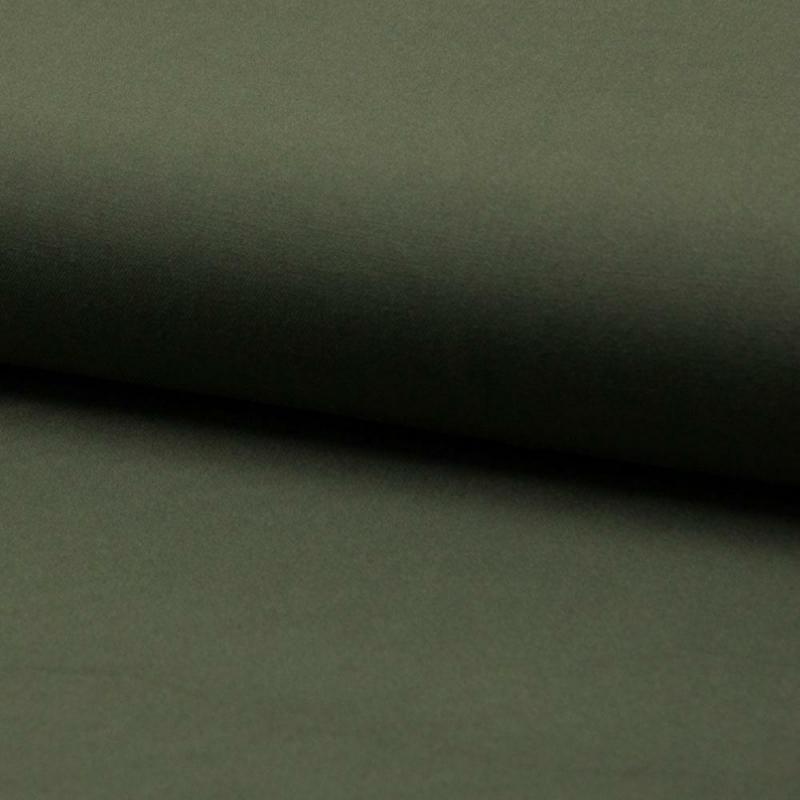 Tkanina wiskozowa - twill- khaki