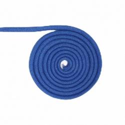Niebieski sznurek 10 mm bawełniany