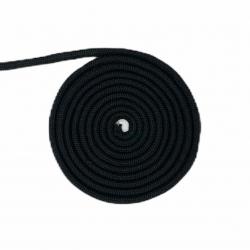Czarny sznurek 10 mm bawełniany