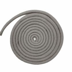Jasno-szary sznurek 10 mm bawełniany