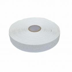 Guma 25 mm kolor biało - srebrny