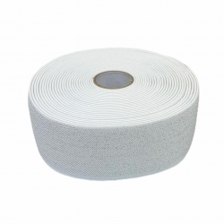 Guma 50 mm kolor biało - srebrny