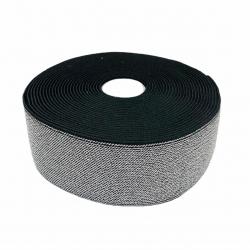 Guma 50 mm kolor czarno - srebrny
