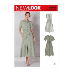 Wykrój New Look N6651