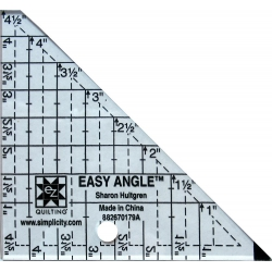 Szablon do trójkątów Easy Angle 4,5 cala