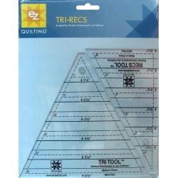 Zestaw mini szablonów trójkątnych