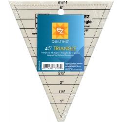 Szablon trójkątny 45°