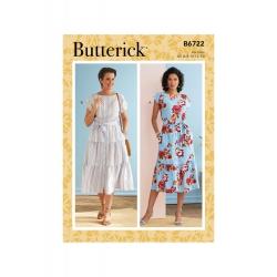 Wykrój Butterick B6722A5