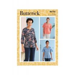 Wykrój Butterick B6732A5