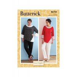 Wykrój Butterick B6734MIS